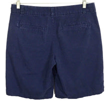 Khakis By Gap Boyfriend Roll Up Navy Uniform Blue Bermuda Shorts Womens 04 - Preowned - FunkyCrap Boutique