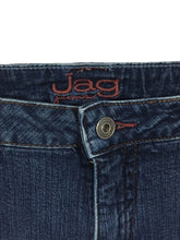 JAG Jeans Straight Leg Dark Wash Stretch Cotton Blend Womens 12 P 12 Petites - Preowned - FunkyCrap Boutique
