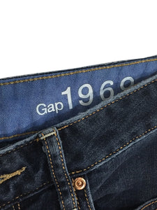 Gap 1969 Jeans Curvy Dark Wash Boot Cut Stretch Women's Size 29 / 8a - Preowned - FunkyCrap Boutique