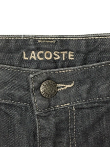 Lacoste Jeans F 4712 Alligator Logo Back Pocket Stretch Womens 32 Actual 34 x 34 - Preowned - FunkyCrap Boutique