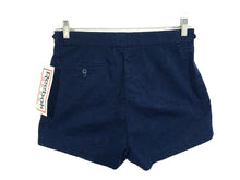 Reebok Sport Vintage Shorts Pleated Adjustable Waist Navy Blue NWT Mens 32 - FunkyCrap Boutique