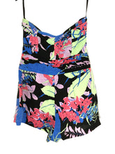 Kimchi Blue Urban Outfitters Romper Field Day Bright Floral Strapless Womens 4 - FunkyCrap Boutique