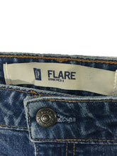 Gap Jeans Flare Cotton Stretch Medium Wash Womens 10 Long 10L Actual 31 x 33.5 - Preowned - FunkyCrap Boutique
