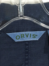 Orvis Sporting Shirt Front Pouch Pockets Tencel Linen Button Down Womens Small S - FunkyCrap Boutique