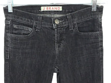 J Brand 912 PMT Pencil Leg Black Gray Stretch Jeans Womens 0 Tag 24 Actual 26 x 35 - Preowned - FunkyCrap Boutique