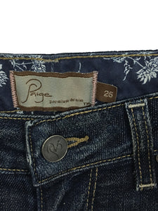 Women's Paige Jeans Hollywood Hills Boot Cut Sewn Size 25 Actual 26 x 34 Long - Preowned - FunkyCrap Boutique