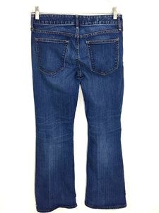 Gap 1969 Perfect Boot Dark Wash Jeans Stretch Womens Petite 27 P Actual 29x30.5 - Preowned - FunkyCrap Boutique