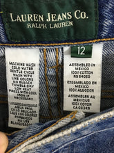 Lauren Jeans Co. Ralph Lauren Classic Straight Leg Womens Size 12 Actual 32 x 31 - Preowned - FunkyCrap Boutique