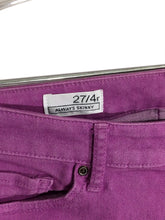 Gap Jeans 1969 Always Skinny Stretch Neon Violet Womens 27 / 4 R Actual 29x26.5 - Preowned - FunkyCrap Boutique