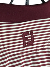 Footjoy FJ Red White Striped Heathrow Country Club Golf Polo Shirt Mens Medium M - Preowned - FunkyCrap Boutique
