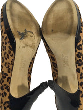 Franco Sarto Napoli Leopard Animal Print Faux Fur Pump Heels Shoes Womens 7.5 M - PreOwned - FunkyCrap Boutique