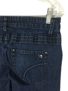 Joes Jeans Rocker Luella Dark Wash Stretch Size 4 Womens 27 Actual 28 x 33.5 - Preowned - FunkyCrap Boutique