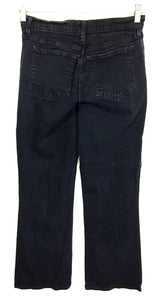 Not Your Daughter's Jeans NYDJ Black Dark Wash Stretch Women's 8 Petites - Preowned - FunkyCrap Boutique