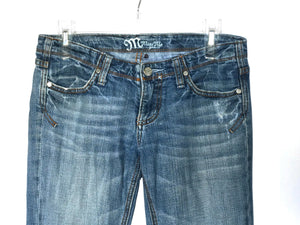 Miss Me Jeans JP4183 Sidney 05 Stretch Distressed Womens 27 - Preowned - FunkyCrap Boutique