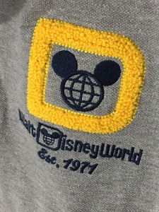 Disney Parks Walt Disney World Embroidered Vintage Logo Polo Casual Shirt Mens XL-Preowned - FunkyCrap Boutique