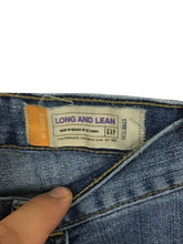 Gap Long and Lean Stretch Light Wash Zip Fly Womens 6R 6 Regular Actual 31 x 32 - Preowned - FunkyCrap Boutique