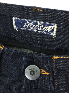 Hudson Jeans Wide Leg Flare Flap Pocket Dark Wash Stretch Womens 25 x 29 - Preowned - FunkyCrap Boutique