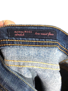 Citizens of Humanity Jeans Naomi #065 Low Waist Flare Womens 29 Actual 30 x 33 - Preowned - FunkyCrap Boutique