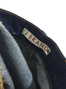 J Brand Lovestory 722 Dark Blue Wash Bell Bottom Flare Women's 27 Actual 30 x 32 - Preowned - FunkyCrap Boutique