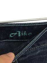 Silver Jeans Aiko Dark Wash Thick Stitch Boot Cut Women's 27 x 31 Actual 28x30 - FunkyCrap Boutique