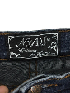 Not Your Daughters Jeans Dark Nordstrom Gold Stitch Bling Studs Pockets Womens 6 - Preowned - FunkyCrap Boutique