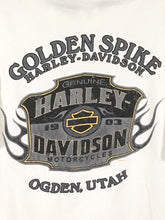 Harley Davidson Motorcycles Ogden Utah Golden Spike Stratman Shirt Mens Medium M - Preowned - FunkyCrap Boutique