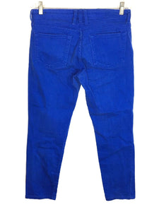 Kut From The Kloth Diana Skinny Jeans Royal Blue Stretch Womens 4 - Preowned - FunkyCrap Boutique