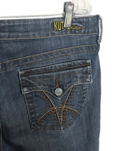 Kut From The Kloth Jeans KP259A4M13 Bootcut Flap Back Pocket Stretch Womens 14 - Preowned - FunkyCrap Boutique