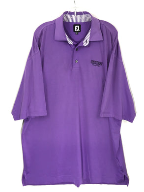 FootJoy FJ Purple Heathrow Country Club Lightweight Golf Polo Mens Size XL - FunkyCrap Boutique