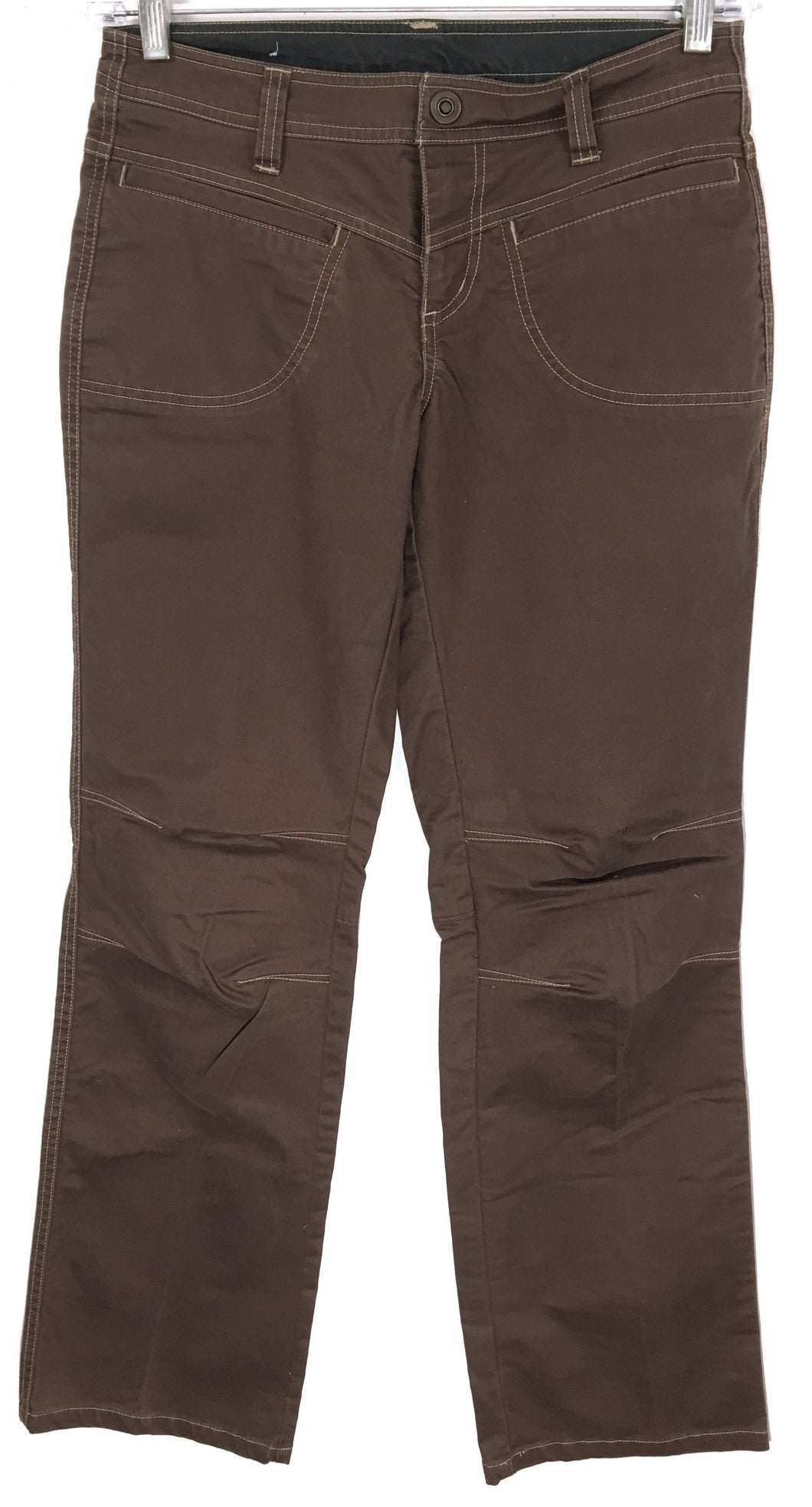 Kuhl Camping Hiking Outdoor Travel Pants Jeans Brown Womens 6 - Preowned - FunkyCrap Boutique