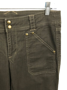 Kuhl Camping Hiking Outdoor Travel Pants Olive Green Womens 6 - Preowned