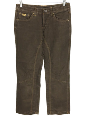 Kuhl Camping Hiking Outdoor Casual Pants Jeans Brown Womens 6 - Preowned - FunkyCrap Boutique