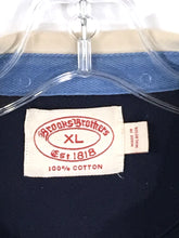 Brooks Brothers Vintage Navy Blue Long Sleeve Cotton Rugby Polo Shirt Mens XL - Preowned - FunkyCrap Boutique
