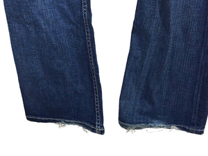 BKE Buckle Madison Boot Cut Cotton Stretch Distressed Jeans Women's 28 x 33.5 - Preowned - FunkyCrap Boutique