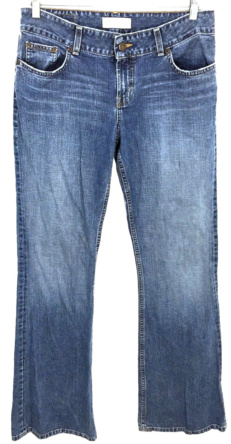 BKE Jeans Culture Light Wash Boot Cut Cotton Long BKL406L Women's Size 30 x 33.5 - Preowned - FunkyCrap Boutique