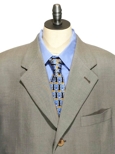 Canali Bloomingdales Blazer Italy Wool Tan Suit Jacket P16320/64 Mens 44R 44 R - Preowned - FunkyCrap Boutique