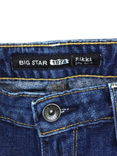 Big Star 1974 Rikki Low Rise Straight Leg Jeans Cropped Womens 29 Actual 30 x 25 - Preowned - FunkyCrap Boutique