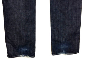 7 For All Mankind Jeans Low Rise Boot Cut Dark Wash Women's 30 Actual 33 x 34.5 - Preowned - FunkyCrap Boutique