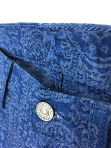 7 Seven For All Mankind Paisley Jeans Gwenevere Skinny Stretch Womens 27 Size 4 - Preowned - FunkyCrap Boutique
