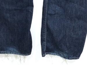 7 Seven For All Mankind Slouchy Jeans Bootcut Dark Wash Womens 28 Actual Size 31x33 - Preowned - FunkyCrap Boutique