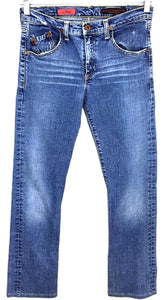 Adriano Goldschmied AG The Tramp Light Wash Boot Cut Jeans Women's 25 R 26x29 - Preowned - FunkyCrap Boutique