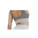 Athleisure Yoga Bra - Heather Grey