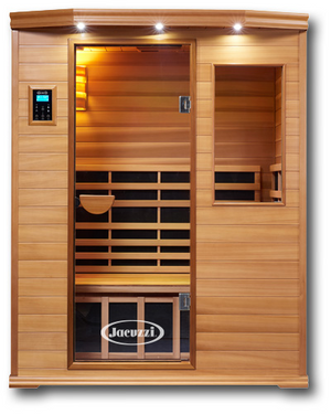 Infrared Sauna For Sale - Premier IS-3: Three Person Sauna