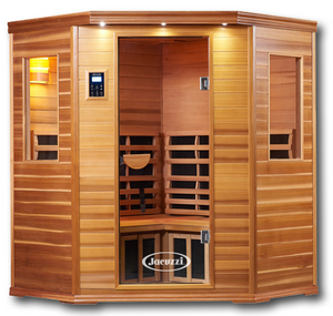 Infrared Sauna For Sale - Premier IS-C: Three Person Corner Far Infrared Sauna