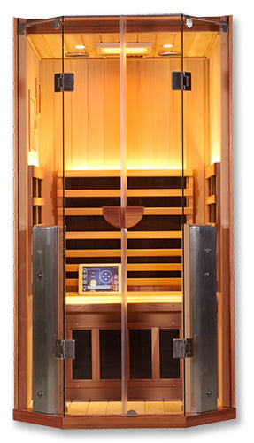 Infrared Sauna For Sale - Sanctuary 1: Full Spectrum 1 Person Infrared Sauna