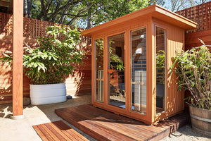Sanctuary Outdoor 5: 4-5 Person Full Spectrum Infrared Sauna