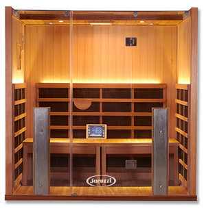 Infrared Sauna For Sale - Sanctuary Y: Full Spectrum 4 Person Infrared Sauna