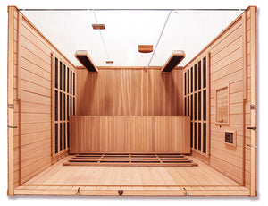 Sanctuary Y: Full Spectrum 4 Person Infrared Sauna