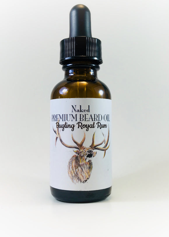 Premium Beard Oil - Bugling Royal Rum 30ml