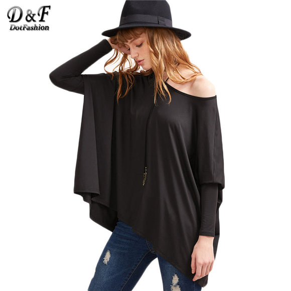 Women's Oversized Long Sleeve Top